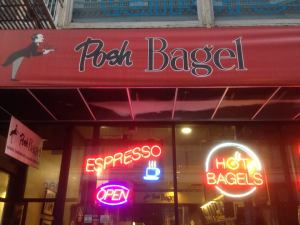 the Posh Bagel in San Francisco