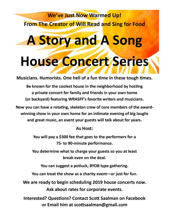 a story and a song brochure